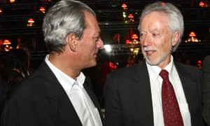 US author Paul Auster, shown here with J. M. Coetzee (right), did not discover the changes made to the translated version of his book Sunset Park until after publication.