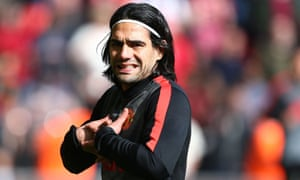Radamel Falcao missed last year's World Cup through injury before moving on loan from Monaco to Manchester United.