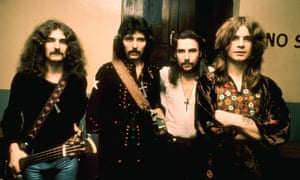 Black Sabbath in the 1970s: from left, Geezer Butler, Tony Iommi, Bill Ward and Ozzy Osbourne.