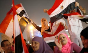Egyptians celebrate election result