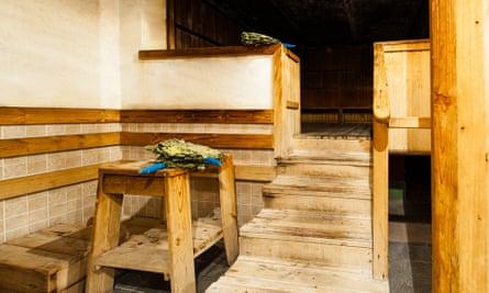Rzhevskie baths sauna, Moscow.