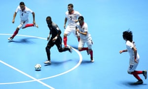 Futsal is popular in South America and Southern Europe, and many 11-a-side players developed their skills on small pitches