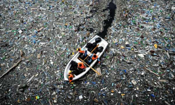 Another candidate to be considered as evidence of the Anthropocene is plastic pollution.