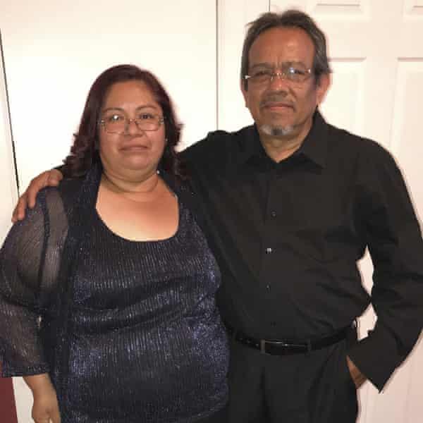 Concepcion Barrios and her husband Margarito Silva.
