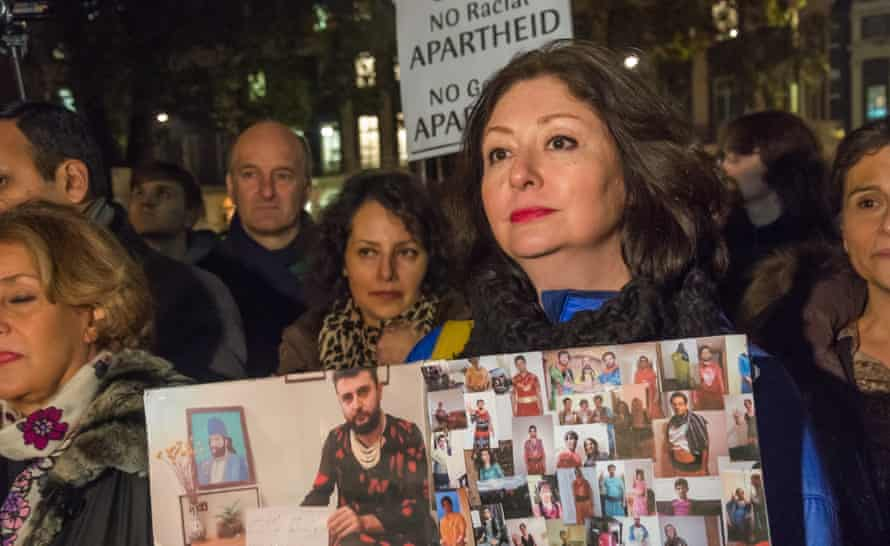 human-rights activist and ex-Muslim Maryam Namazie, whose speech to Goldsmiths student union was disrupted by Islamic Society students