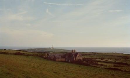 Bardsey's lighthouse.