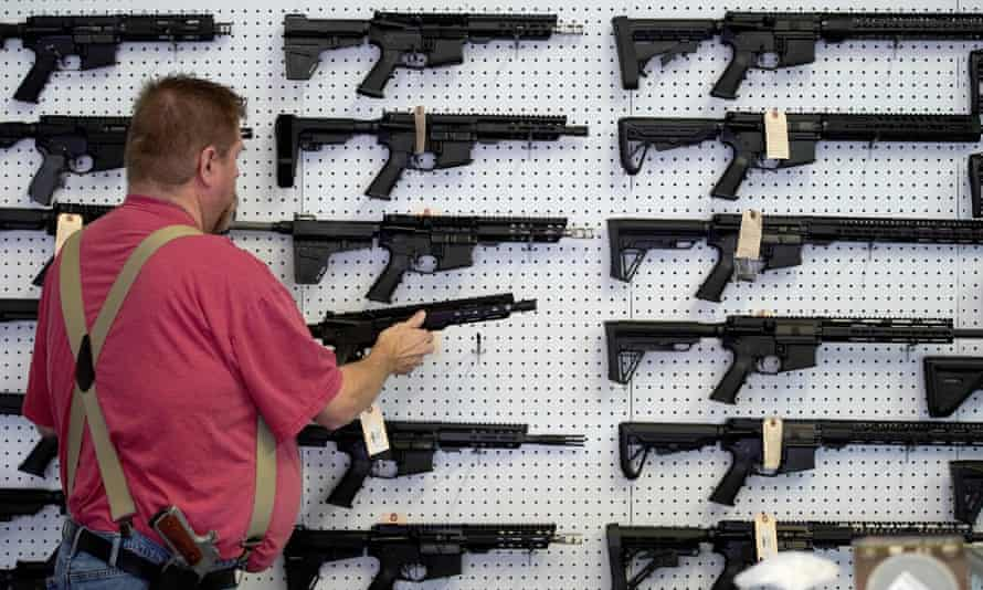 Gun sales have risen in the US as coronavirus fears trigger personal safety concerns.