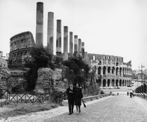 Colosseum, Rome, from the north-west, 1961