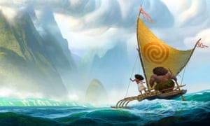 A scene from the forthcoming animation Moana.