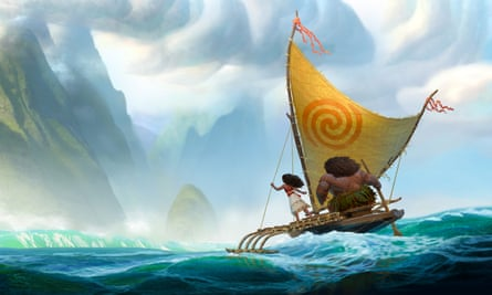 'Moana has to sail past the reef and into the unknown. And she has to win. '