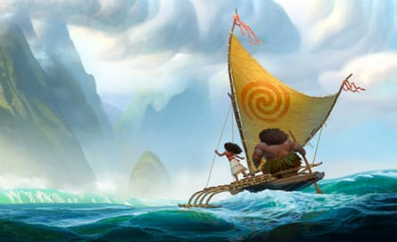 'I was in the wrong ocean': a still from Moana.