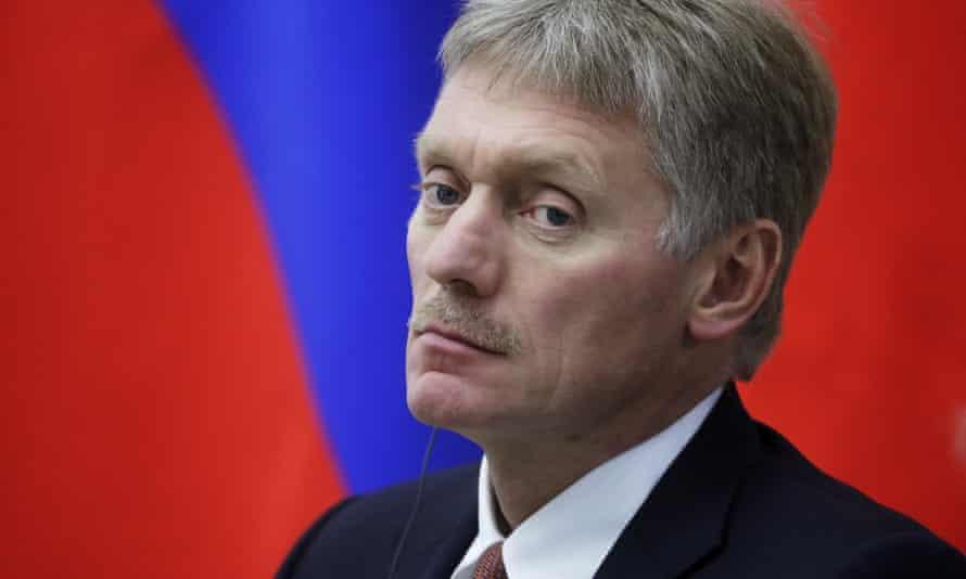 Vladimir Putin's spokesman, Dmitry Peskov.