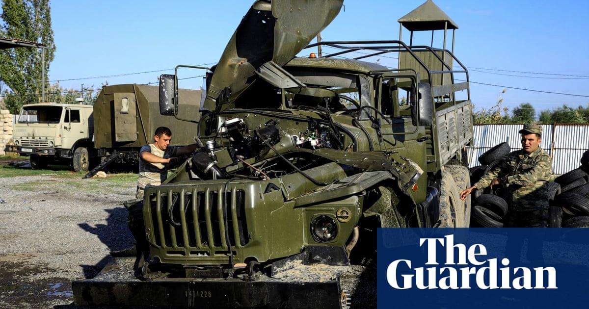 Half of Nagorno-Karabakh population displaced by Armenia and Azerbaijan clashes – The Guardian