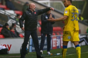 Uwe Rösler is fully immersed in his job. 'I speak to Gretar Steinsson, the technical director at Fleetwood, more than I speak to my wife,' he says.
