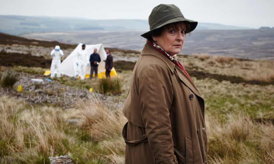 'A great lummox of a woman' …Blethyn as DCI Vera Stanhope.