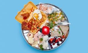 leftover food montage