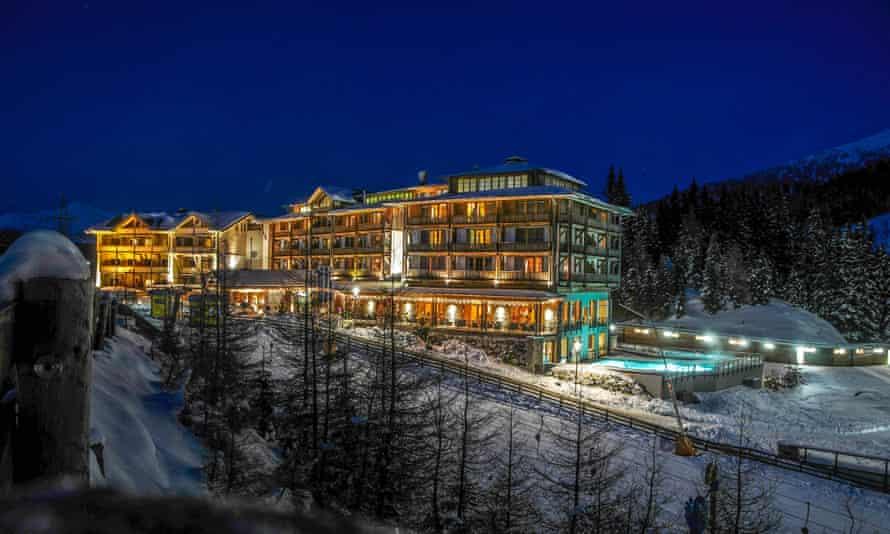 Hotel Cristallo.