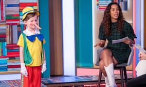 A World Book Day feature on ITV's This Morning, with presenter Rochelle Humes.
