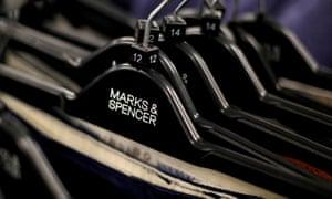 M&S clothes hangers