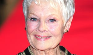 Dame Judi Dench has been diagnosed with macular degeneration and can no longer read her own scripts.
