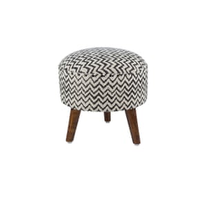 Zigzag round stool, £80, amara.com