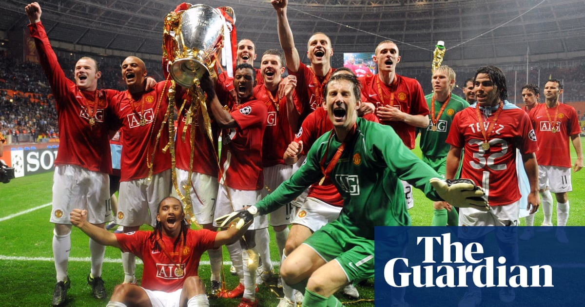 Football Quiz When Manchester United Won The 2008 Champions League Final Football The Guardian