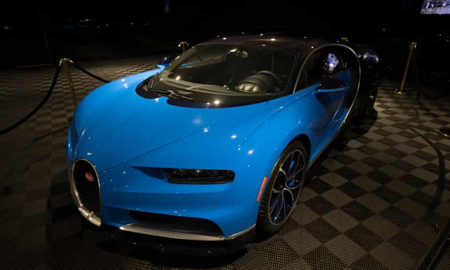 Niami describes his clients as 'normal dudes, down to earth … they arrive in a Prius'. But just in case he is throwing in a Bugatti Chiron at his Opus.