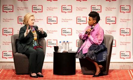 Hillary Clinton and Chimamanda Ngozi Adichie