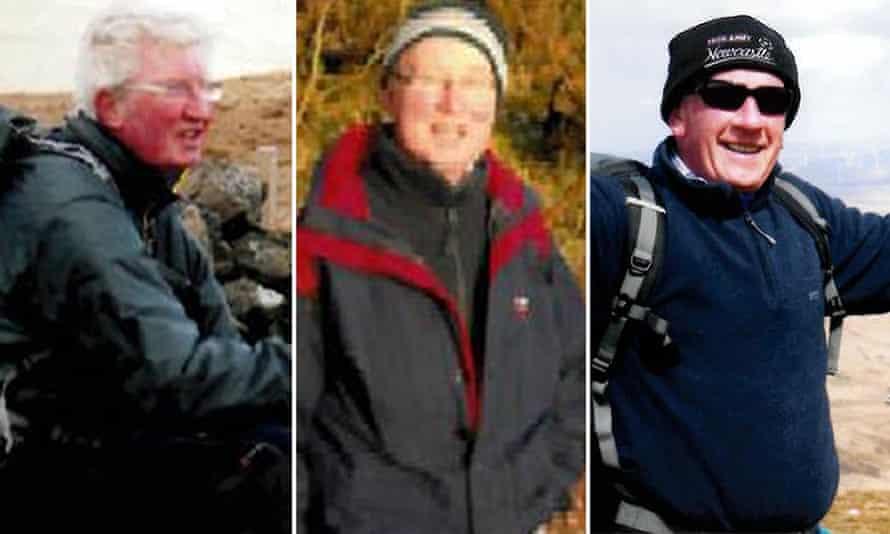 Bobby Thompson, George Crosbie and Jeffrey Stewart