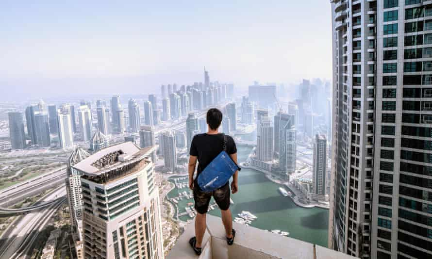 Rooftopper in Dubai