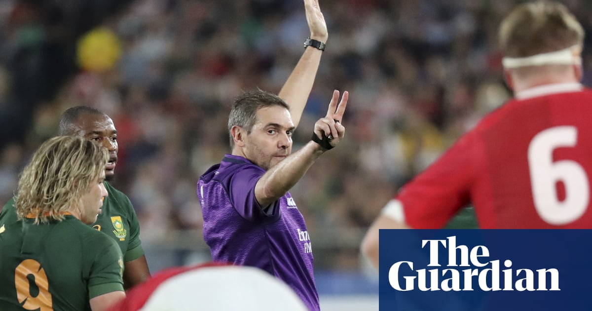 Frenchman Jérôme Garcès to referee Rugby World Cup final