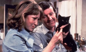 The cat's whiskers … Felicity Kendal and Richard Briers in 70s favourite The Good Life.