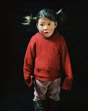 Portrait of a herder's daughter, Mongolia