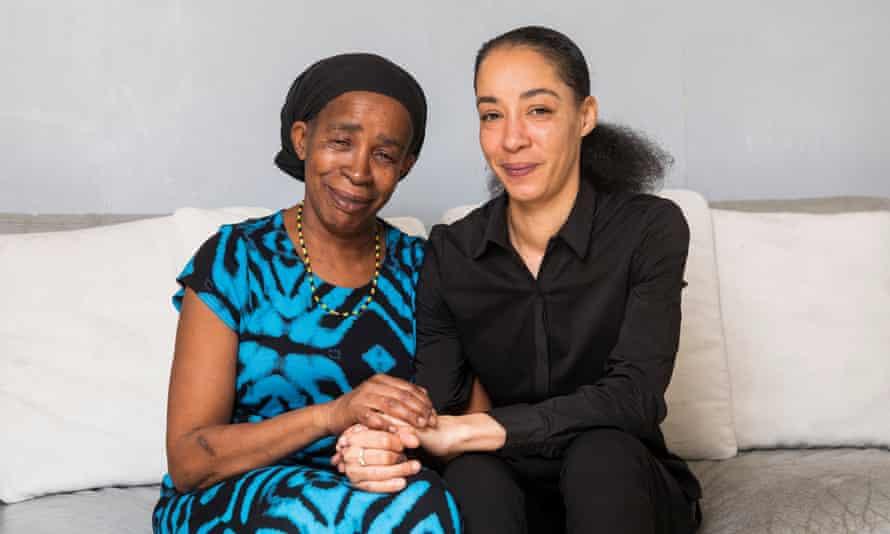 Paulette Wilson with her daughter, Natalie Barnes.