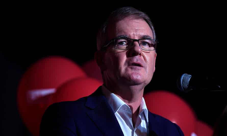 Former Labor leader Michael Daley conceding defeat in the 2019 NSW election