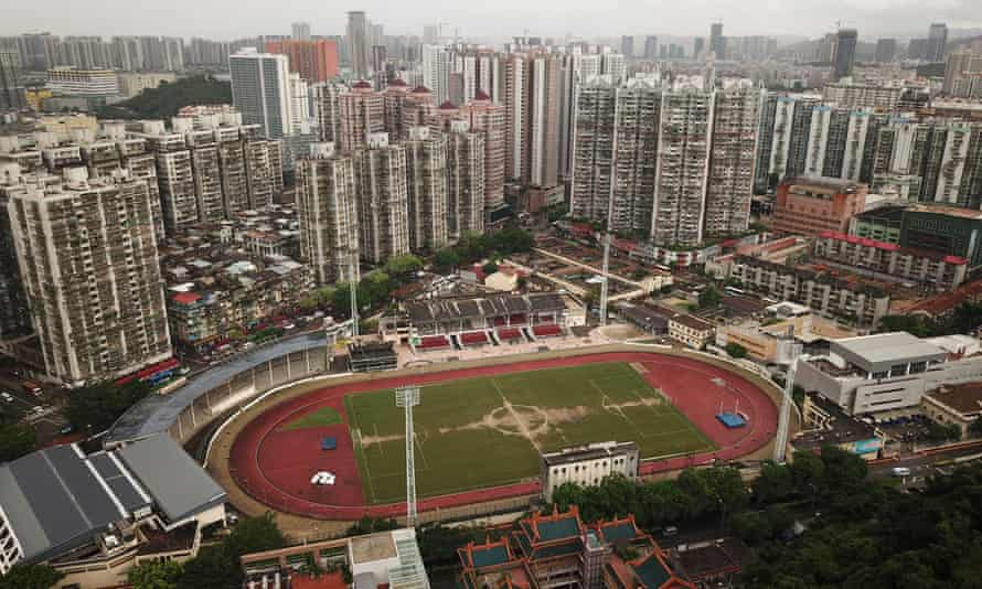 Macau Canidrome view