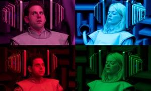 Maniac starring Jonah Hill and Emma Stone.
