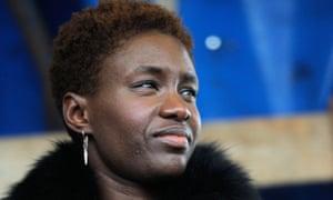 French writer, journalist and activist Rokhaya Diallo.