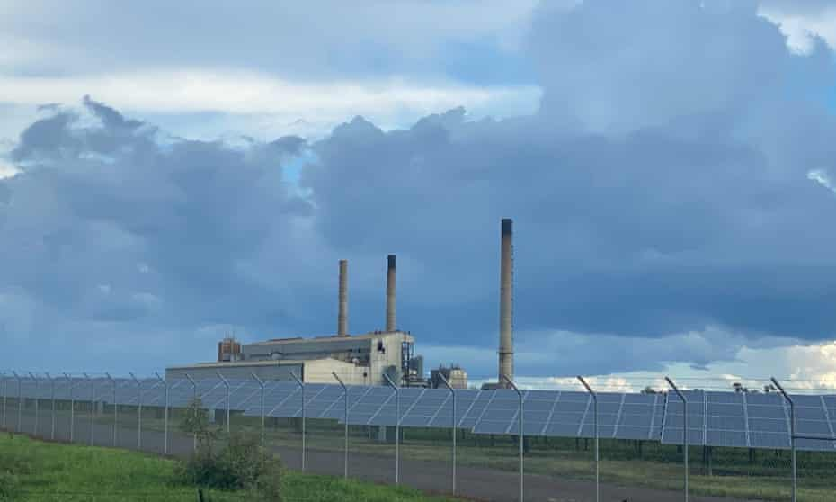 The disused power station at Collinsville in the Bowen Basin region of Central Queensland.