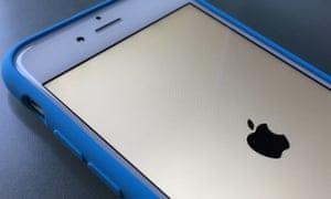 rebooting iPhone 6
