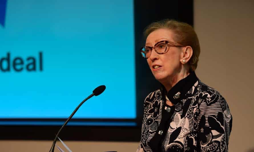 Former foreign secretary Margaret Beckett.