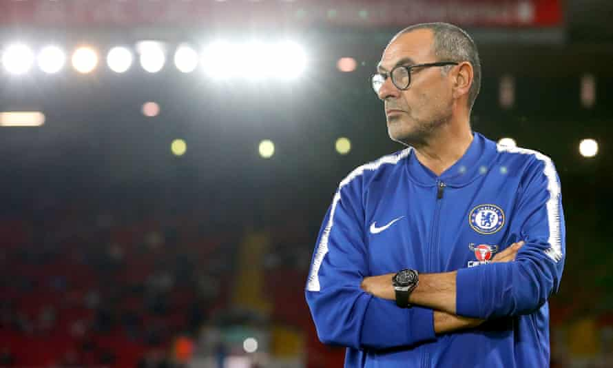 Maurizio Sarri has preached 'fun' at Chelsea's training ground and has got immediate results in matches.