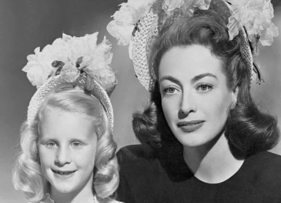 Christina Crawford, aged 7, with her mother, Joan … 'We don't recognise the long-term psychological damage that is inflicted on people who are abused.'