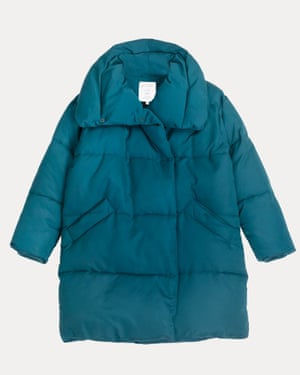 Made using recycled plastic bottles, this is Thought's most sustainable coat to date. £150, wearethought.com