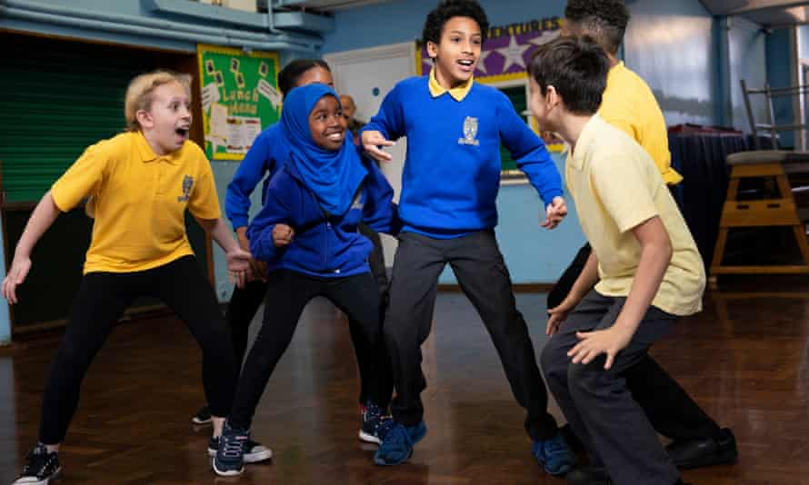 'We're working with people who are really top class' … pupils at Roger Ascham school rehearse Matthew Bourne's Nutcracker!