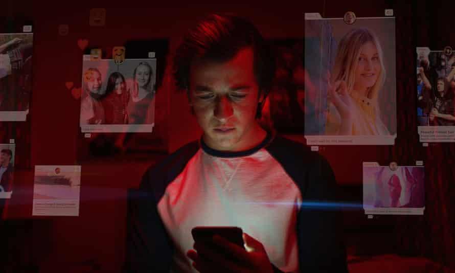 A still from docudrama The Social Dilemma.