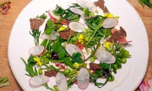 Nurdin Topham's foraged salad