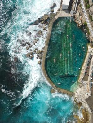 Bronte rock pool, Sydney