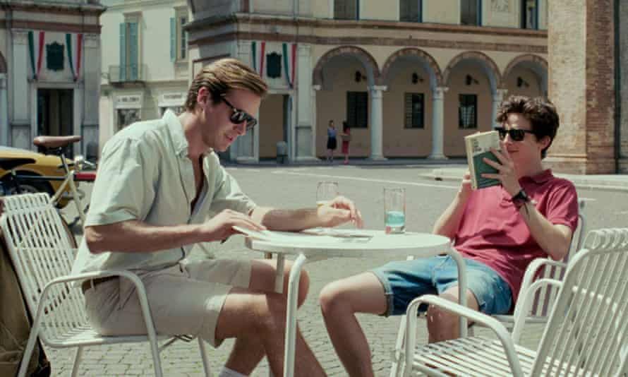 A scene from the 2017 movie adaptation of Call Me by Your Name.