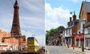 There is a 16-year gap in healthy-life expectancy between Blackpool and Wokingham, Berkshire.